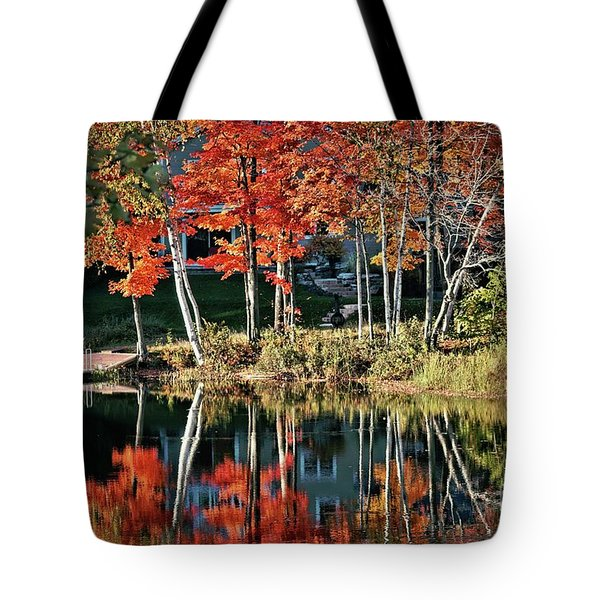 Reflected Beauty Tote Bag by Aimelle