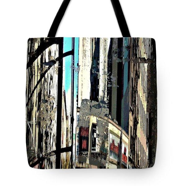 Reflected City 2 Tote Bag by Sarah Loft