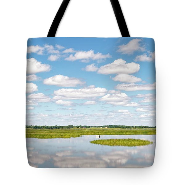 Tote Bag featuring the photograph Reflected Clouds - 01 by Rob Graham