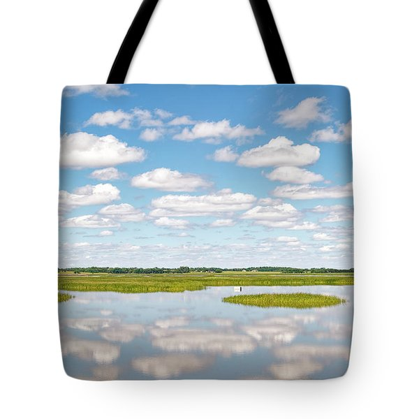 Tote Bag featuring the photograph Reflected Clouds - 02 by Rob Graham