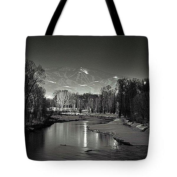 Reflected Grooming Tote Bag by Matt Helm