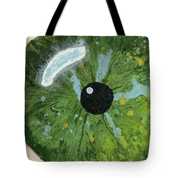 Reflected In The Eye Of A Child Never Born Tote Bag
