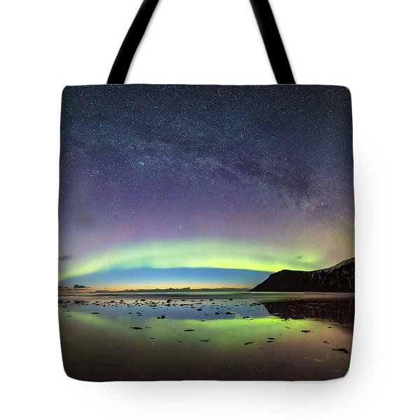 Reflected Lights Tote Bag