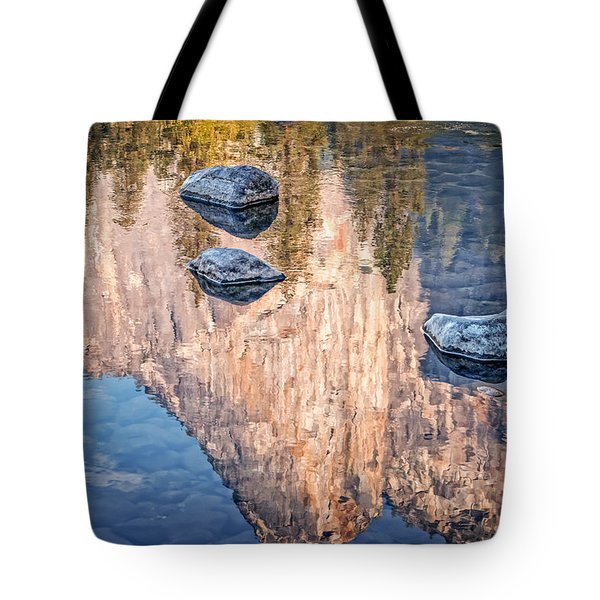Reflected Majesty Tote Bag