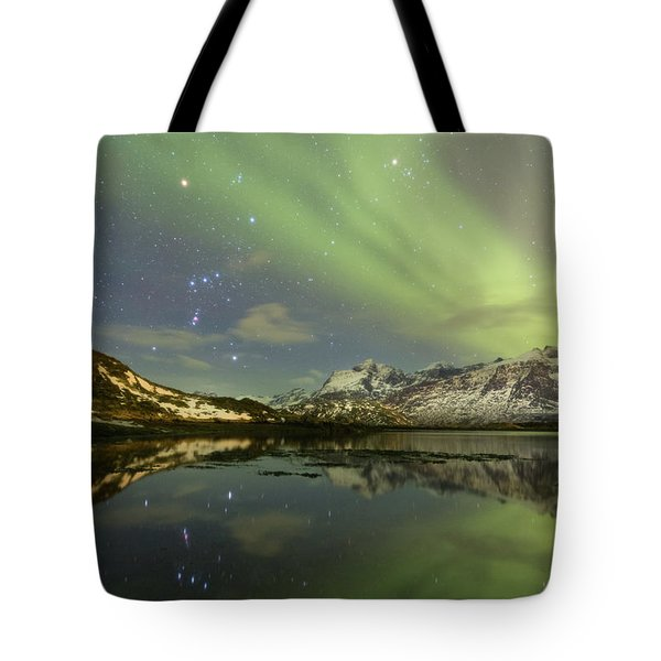 Reflected Orion Tote Bag