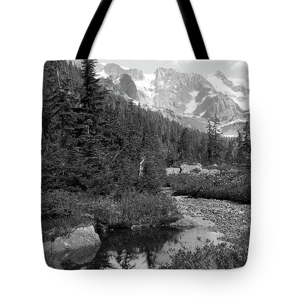 Reflected Pine Tote Bag