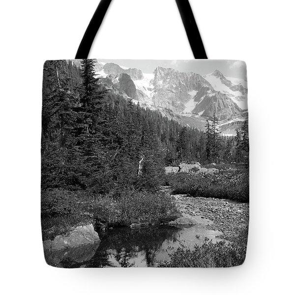 Reflected Pine Tote Bag