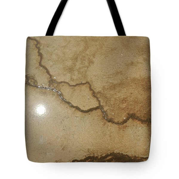 Reflected Sun In Hot Spring Tote Bag