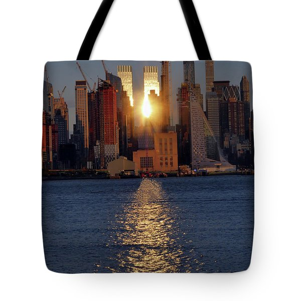 Reflected Sunset Tote Bag
