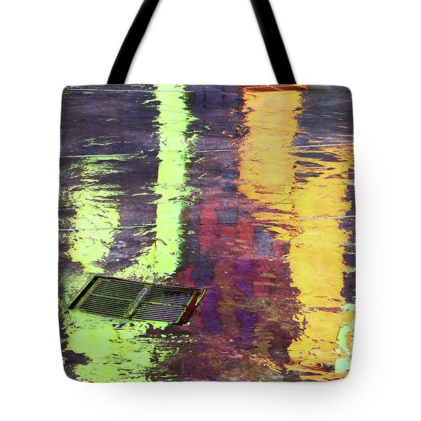 Reflecting Abstract Tote Bag