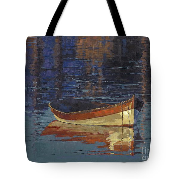 Sold Reflecting At Day's End Tote Bag