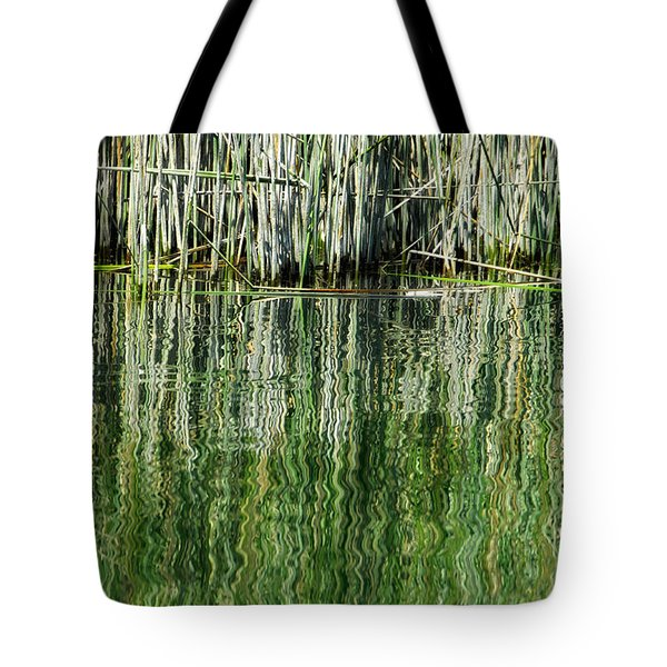 Reflecting Back Tote Bag by Donna Blackhall