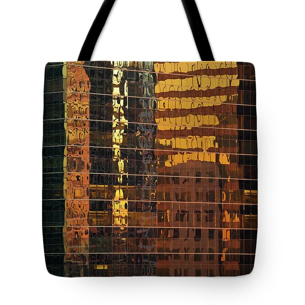 Reflecting Chicago Tote Bag
