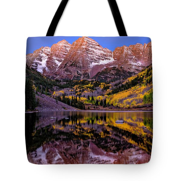 Reflecting Dawn Tote Bag