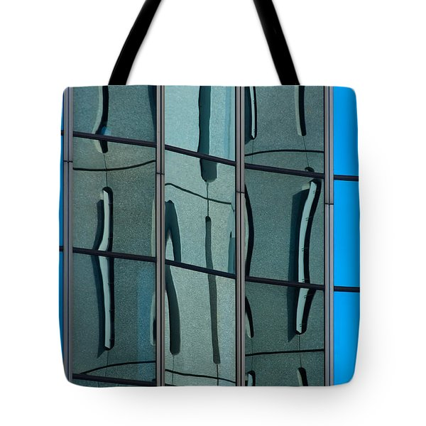 Tote Bag featuring the photograph Reflecting Eagle 1 by Werner Padarin