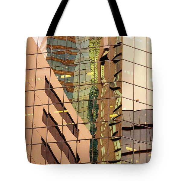 Reflecting Eagle 4 Tote Bag