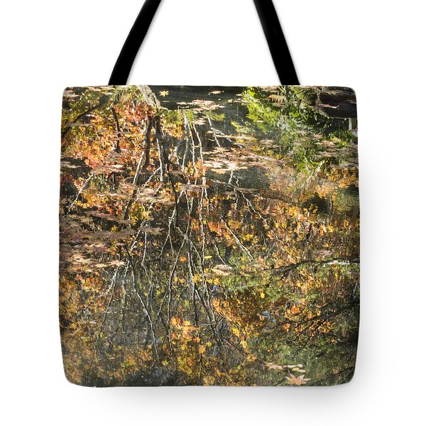 Reflecting Gold Tote Bag