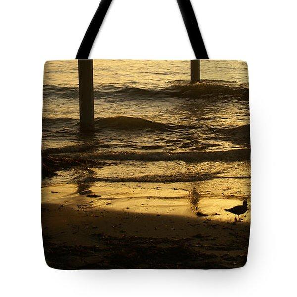 Reflecting Gold Tote Bag
