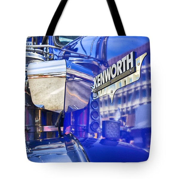 Reflecting On A Kenworth Tote Bag