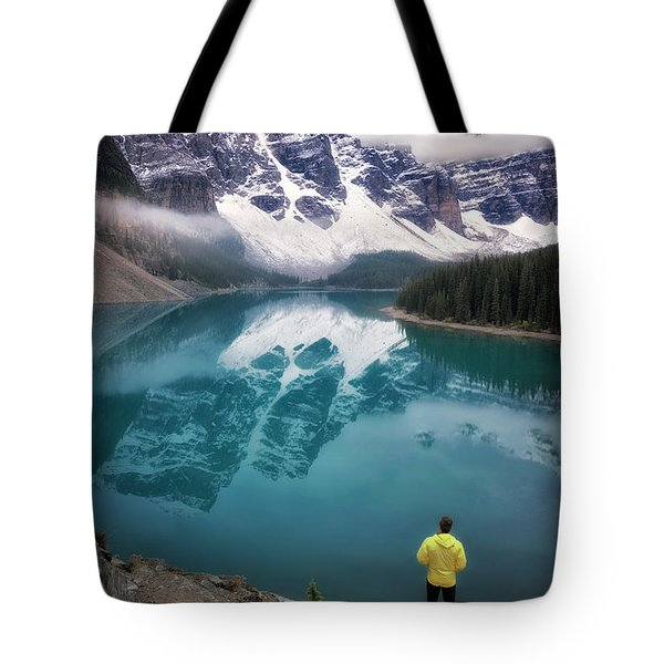 Reflecting On Reflections Tote Bag by Nicki Frates