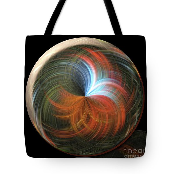 Reflecting Orb Tote Bag by Judy Wolinsky