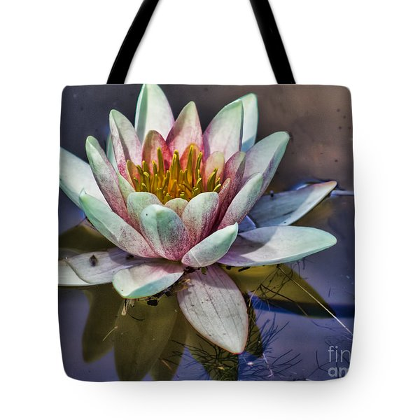 Reflecting Petals Tote Bag