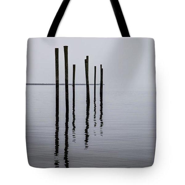 Reflecting Poles Tote Bag