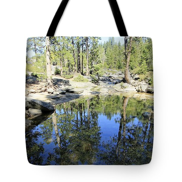 Tote Bag featuring the photograph Reflecting Pond by Sean Sarsfield