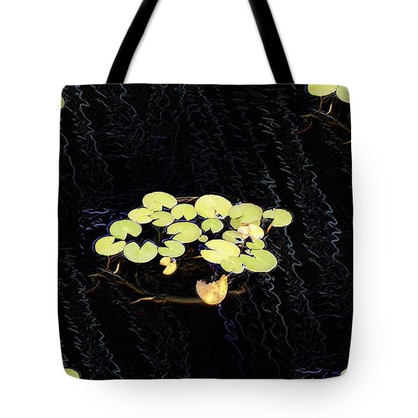 Reflecting Pool Lilies Tote Bag by Tim Allen