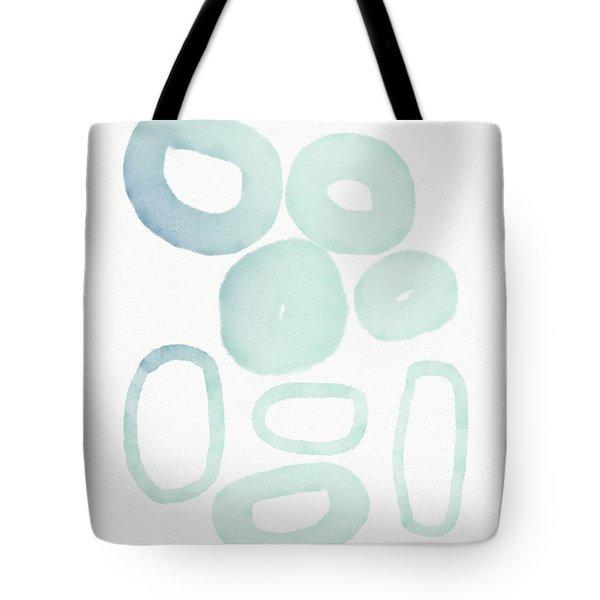 Reflecting Pools- Art By Linda Woods Tote Bag by Linda Woods
