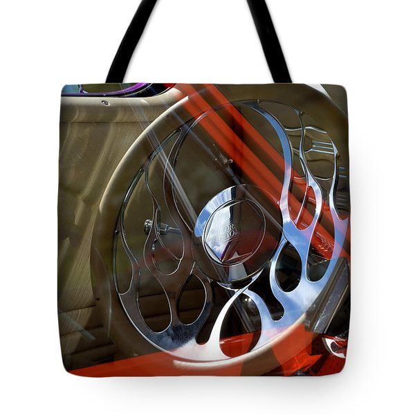 Tote Bag featuring the photograph Reflecting Reflections by Kae Cheatham