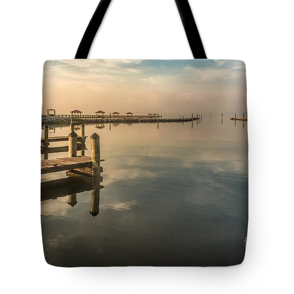 Reflecting Sky Tote Bag by Brian Wright