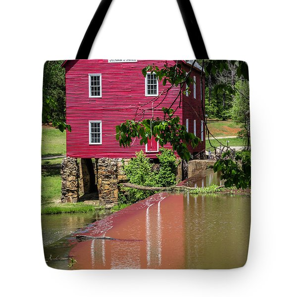 Starrs Mill Reflection Tote Bag