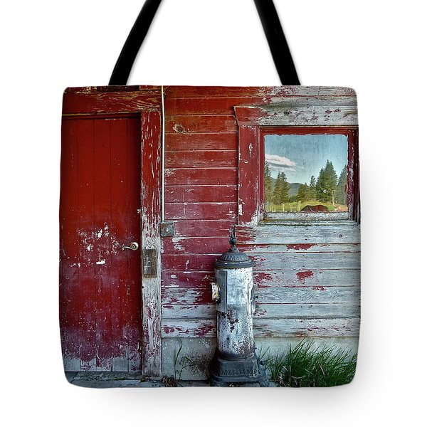 Reflecting The Landscape Tote Bag