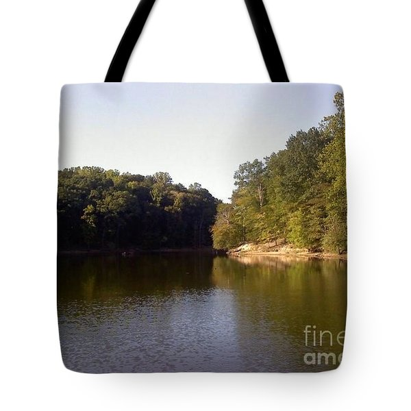 Reflecting Water Tote Bag