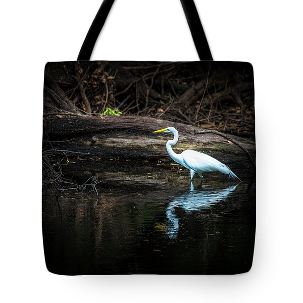 Reflecting White Tote Bag