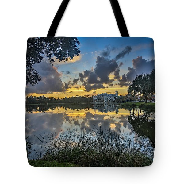Reflection 5 Tote Bag by Mina Isaac