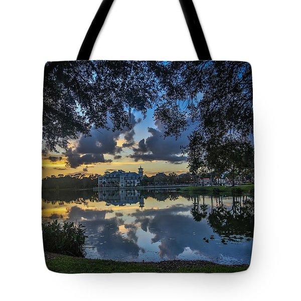 Reflection 6 Tote Bag by Mina Isaac
