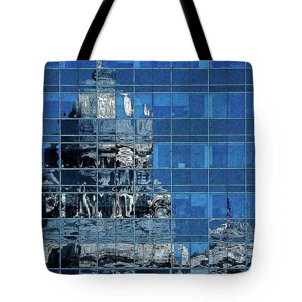Reflection And Refraction Tote Bag by Alex Galkin