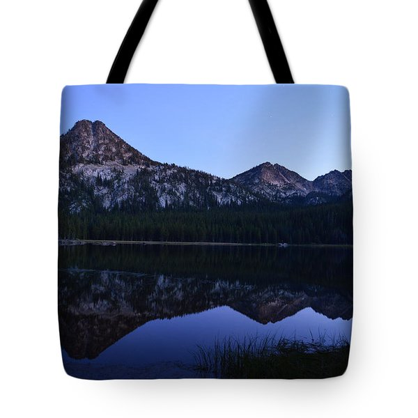 Reflection At Dusk Tote Bag by Jeremy Tamsen