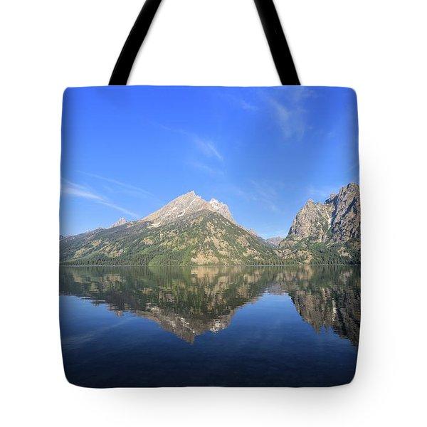 Reflection At Grand Teton National Park Tote Bag