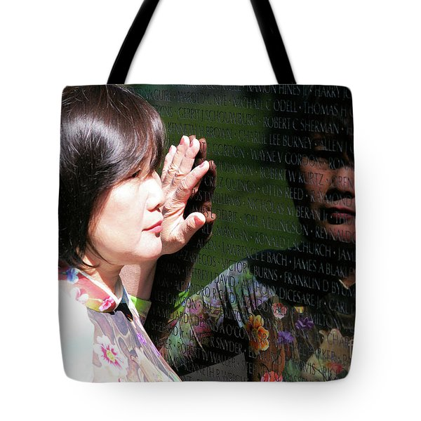 Reflection At The Wall Pt.2 Tote Bag