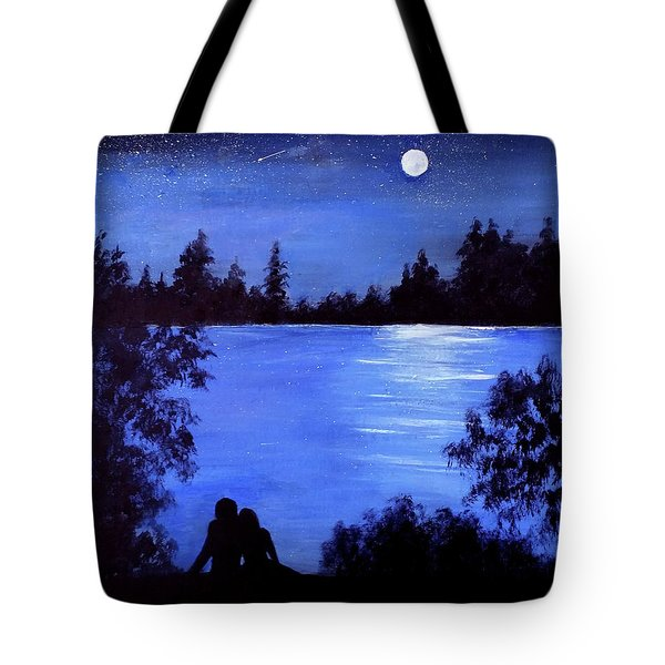 Reflection By The Water Tote Bag