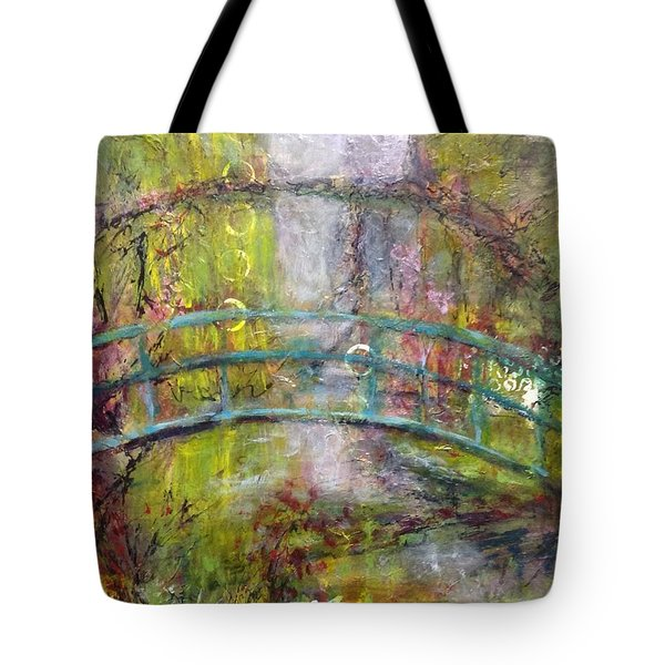Reflection In Time Tote Bag