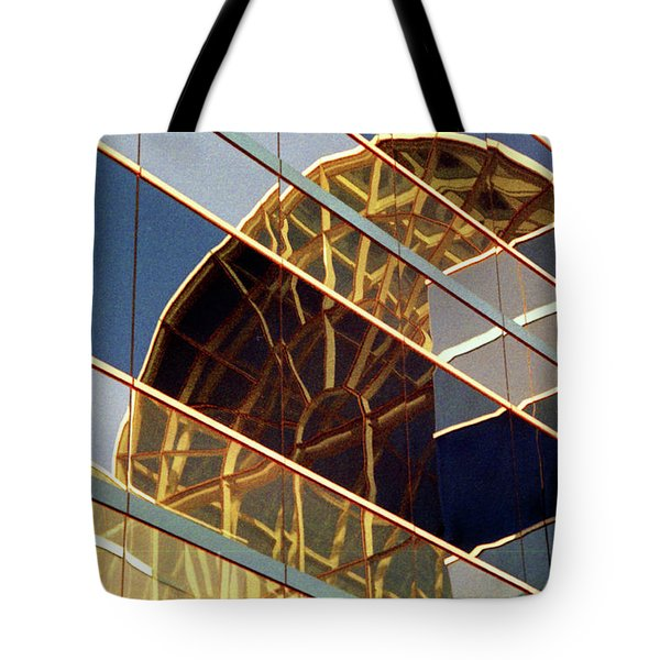 Tote Bag featuring the photograph Reflection by John Schneider