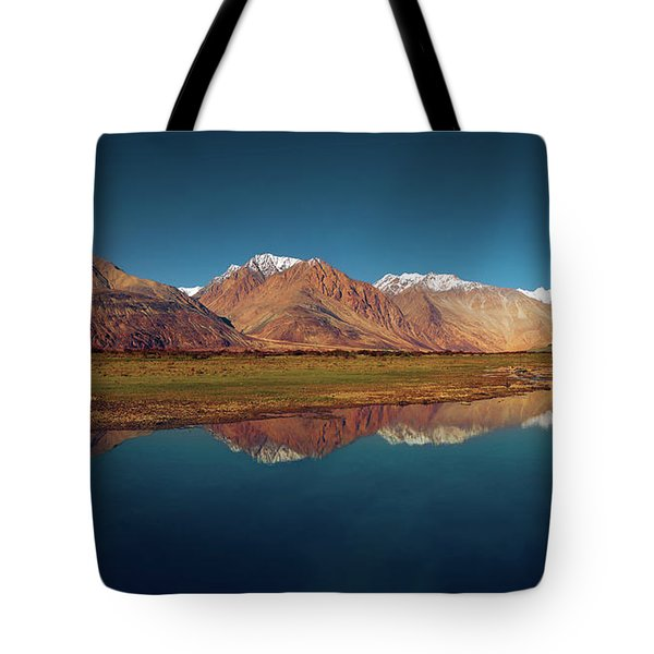 Reflection Tote Bag by Marji Lang