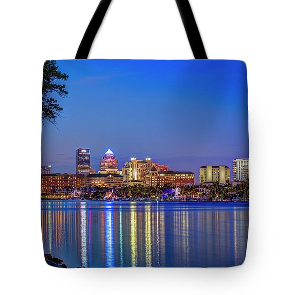 Reflection Of A City Tote Bag