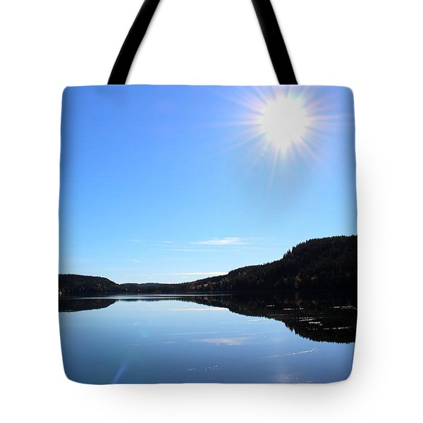 Reflection Of The Lake Tote Bag
