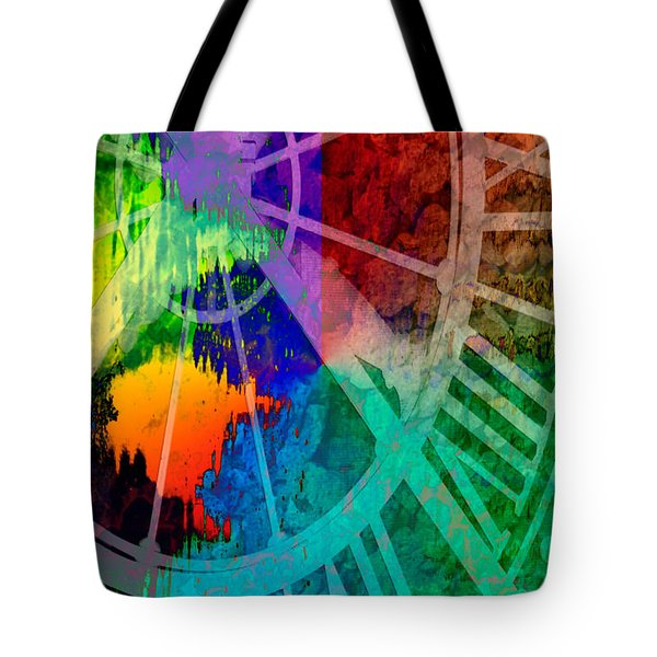 Reflection Of Time Tote Bag by Brian Roscorla