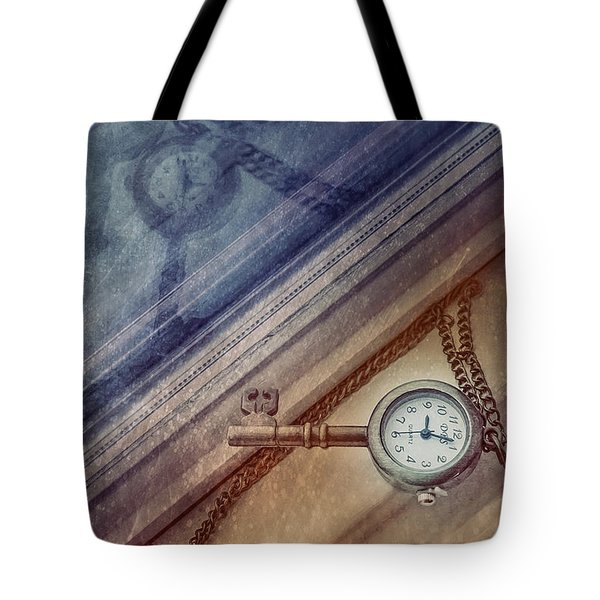 Reflection Of Time Tote Bag